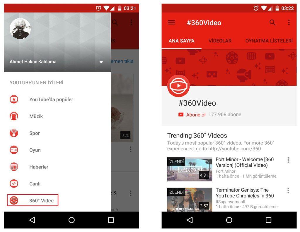 Android Telefonda 360 Derece Video İzleme_3