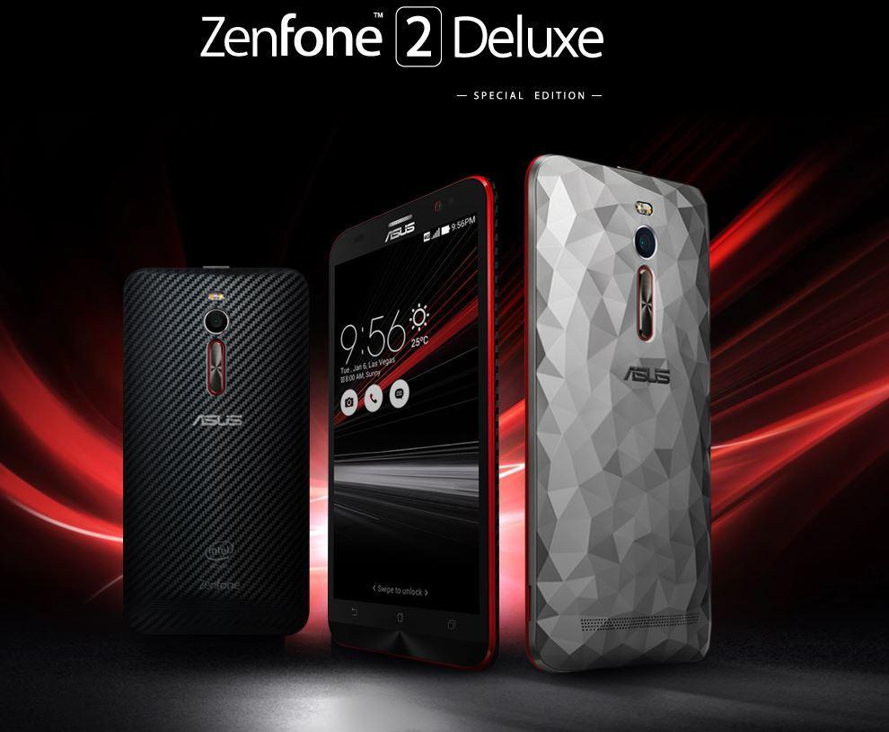 Asus Zenfone 2 Deluxe Special Edition Tanıtıldı