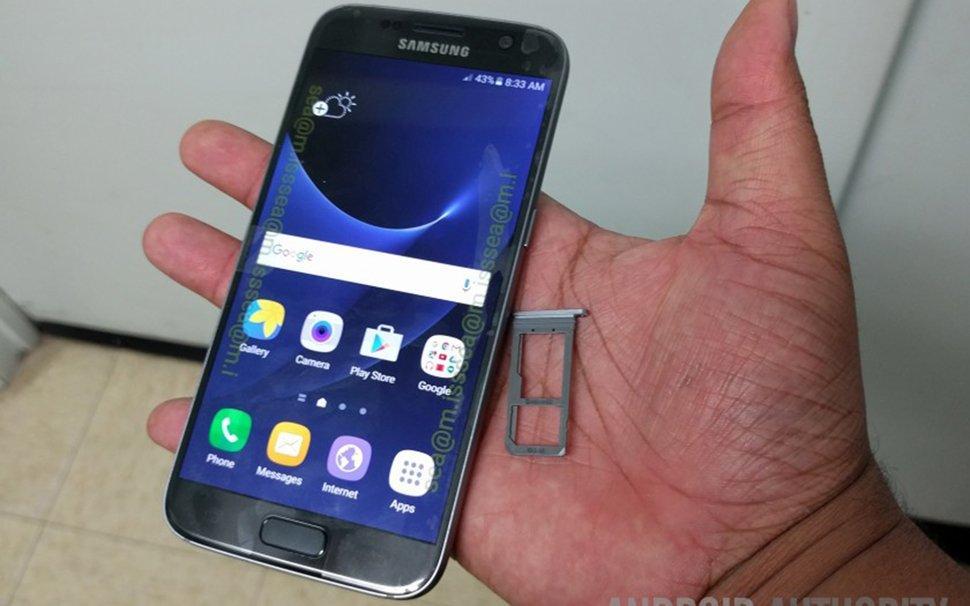 Galaxy S7'nin Canlı Kullanım Videosu Sızdırıldı
