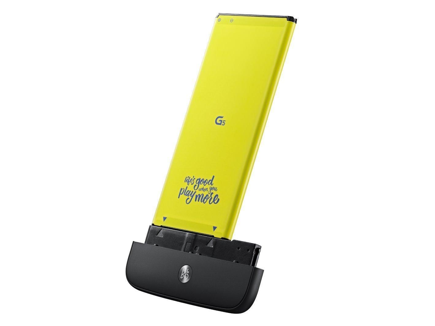 LG G5 modülleri ve diğer ekipmanları_LG Hi-Fi Plus Bang & Olufsen