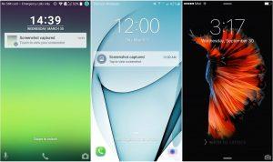 LG G5 Galaxy S7 ve İPhone 6s Arayüz karşılaştırması_01