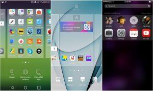 LG G5 Galaxy S7 ve İPhone 6s Arayüz karşılaştırması_03