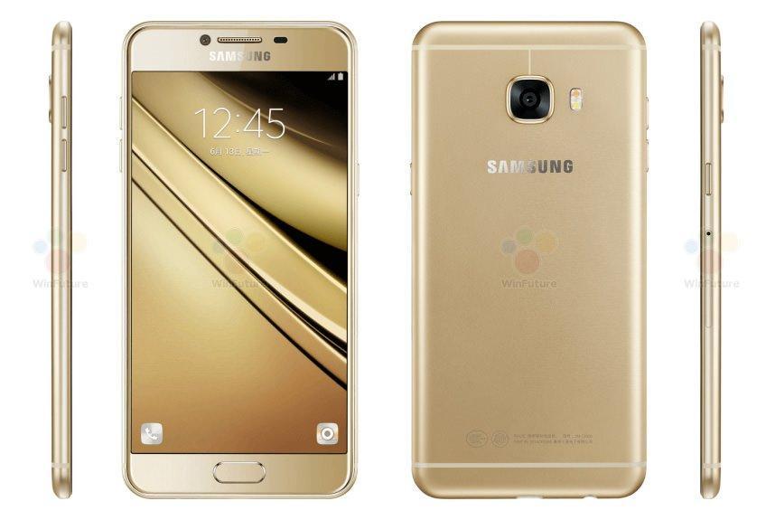 Samsung Galaxy C5 Render Görüntüsü