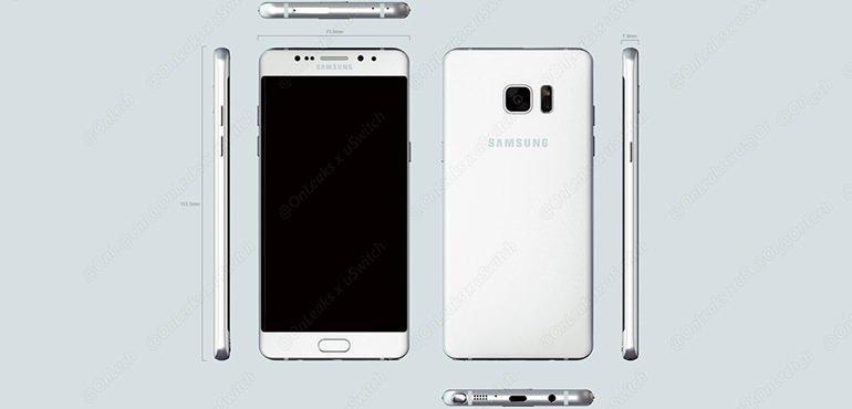 Galaxy Note 6'nın Görüntüleri