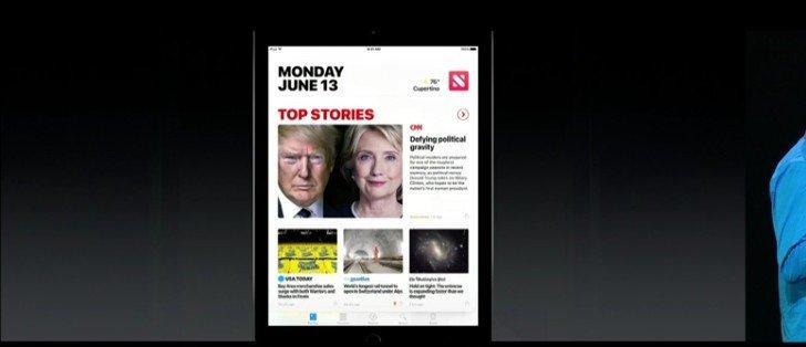 iOS 10 İle Gelen 10 Büyük Özellik Apple News