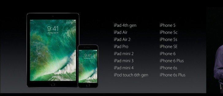 iOS 10 İle Gelen 10 Büyük Özellik iOS 10 Güncellemesi Alacak Cihazlar
