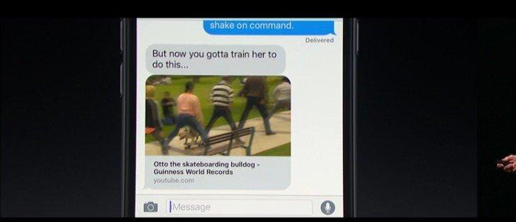 iOS 10 İle Gelen 10 Büyük Özellik mesajlar