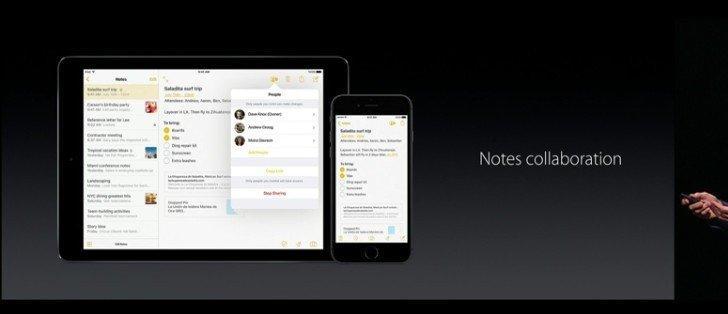 iOS 10 İle Gelen 10 Büyük Özellik not uygulaması