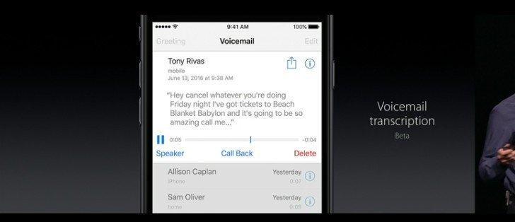 iOS 10 İle Gelen 10 Büyük Özellik_telefon