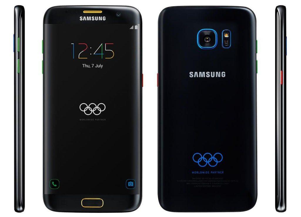 Galaxy S7 edge Olympic Games Edition 879€'dan Ön Siparişe Çıktı