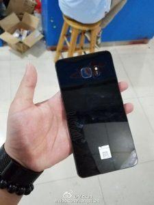 Galaxy Note 7 Fotoğrafları