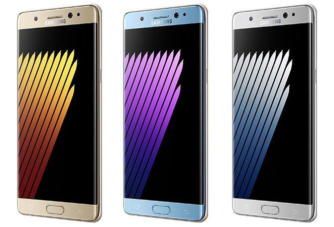 Galaxy Note 7 Render Görüntüleri