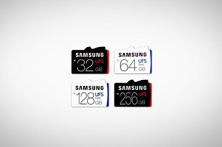 Samsung UFS Standartlı Bellek