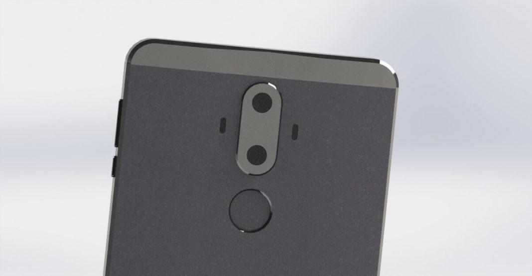 Huawei Mate 9'un Render Görüntüleri