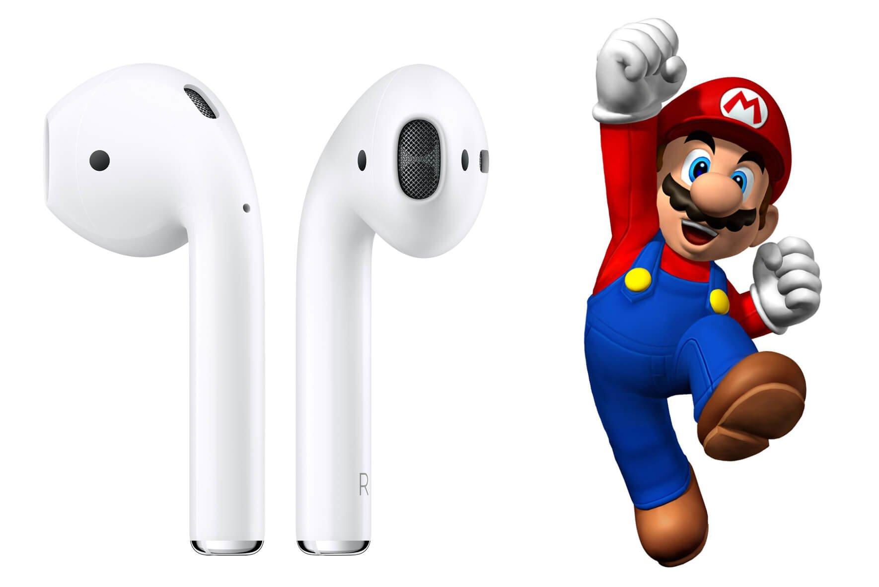 AirPods ve Super Mario