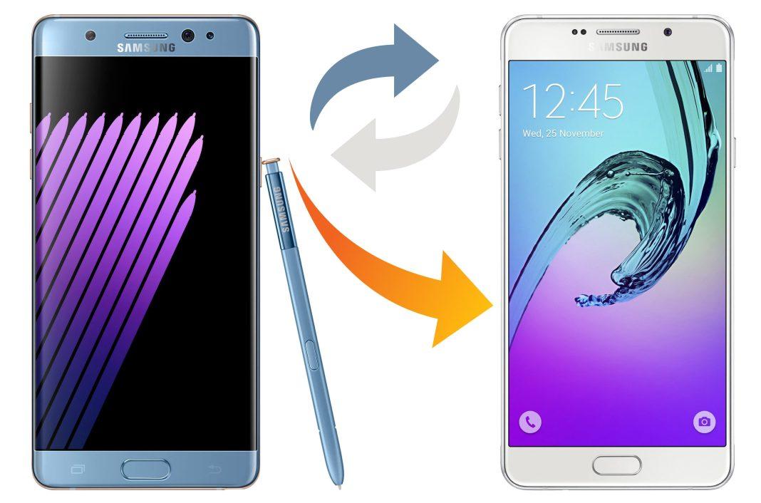 Galaxy Note 7 Sahiplerine Geçici Olarak Galaxy A7 2016