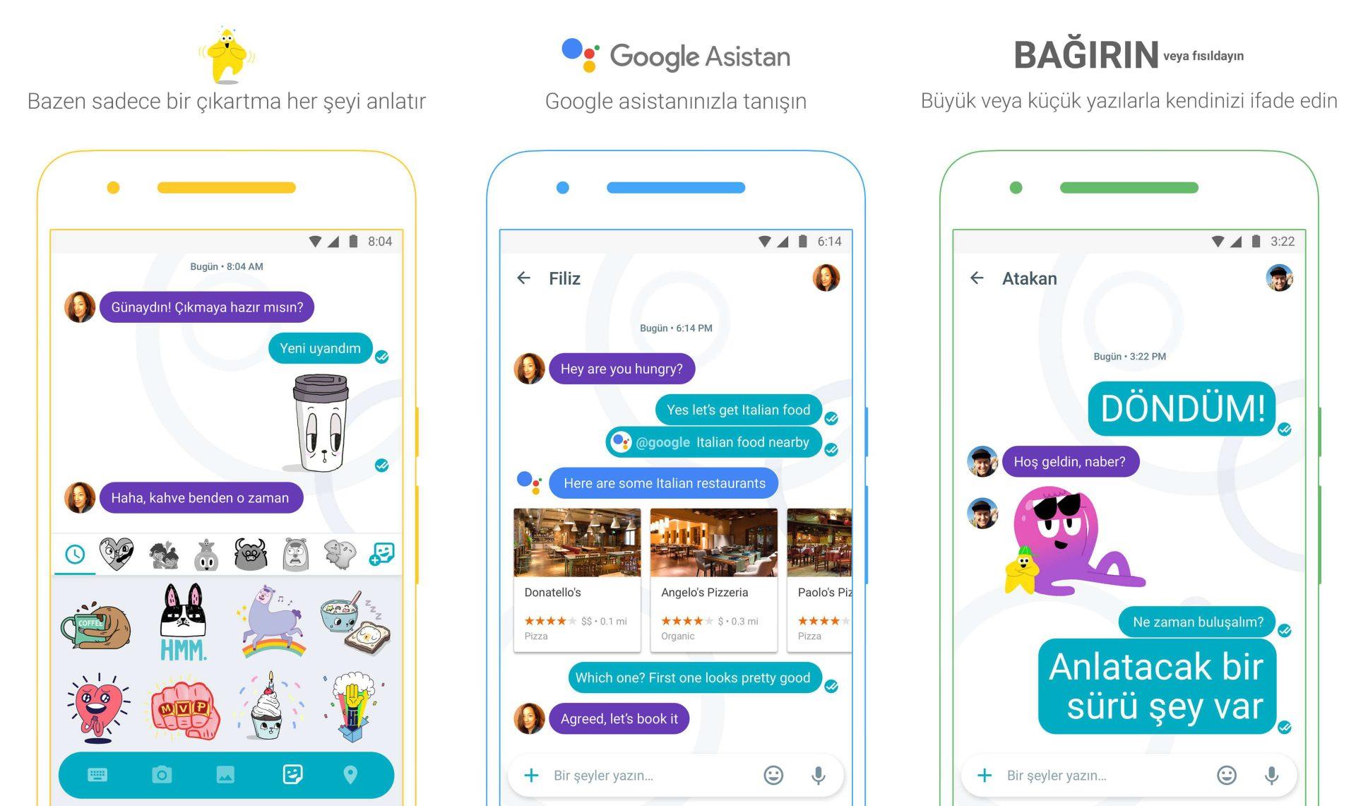 Google Allo Mesajlaşma Uygulaması