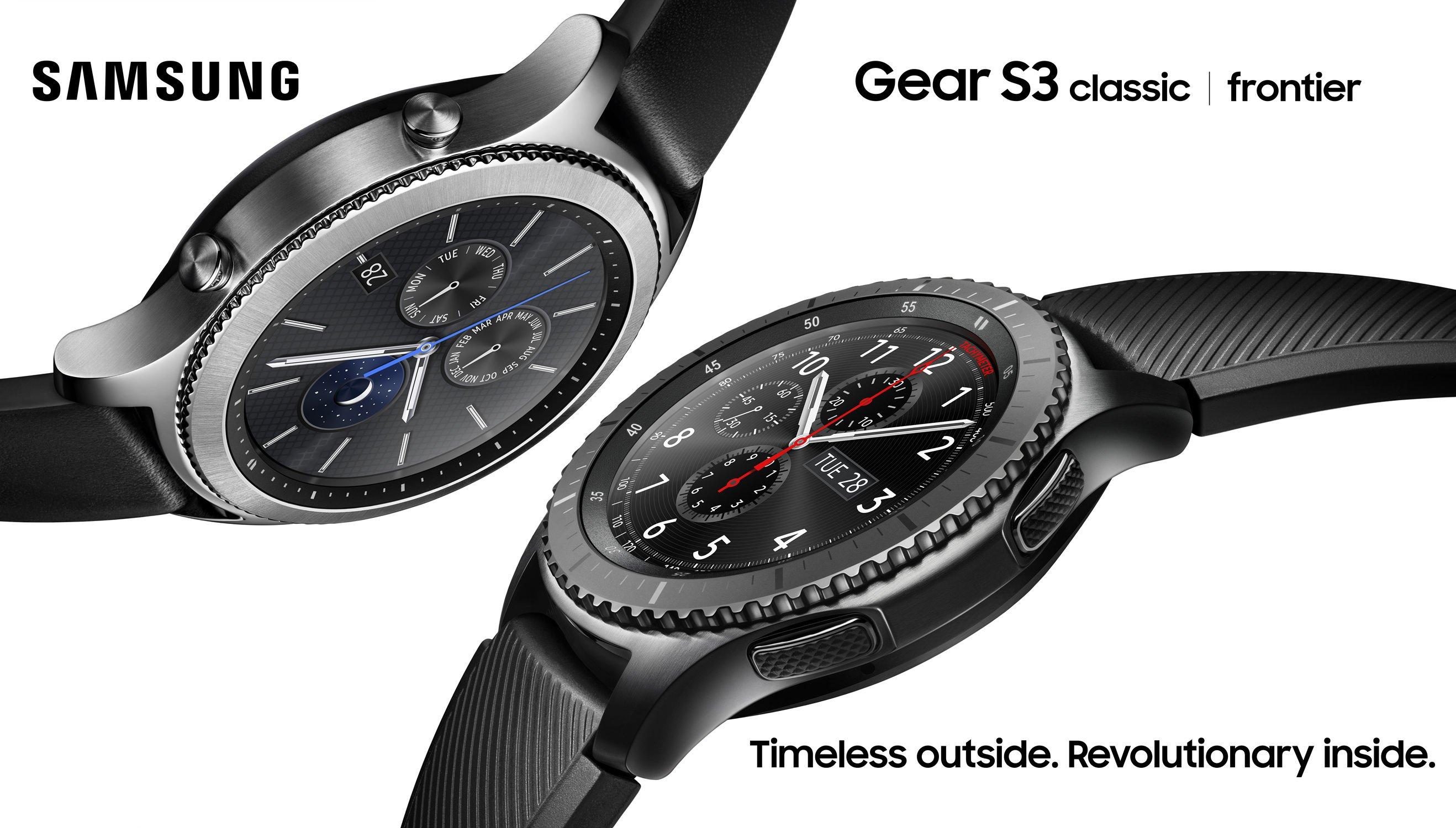 Samsung'un Yeni Akıllı Saati Gear S3