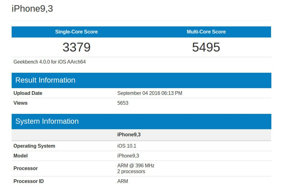 iPhone 7 Plus A10 Yonga Seti Geekbench Skoru Ortaya Çıktı_01