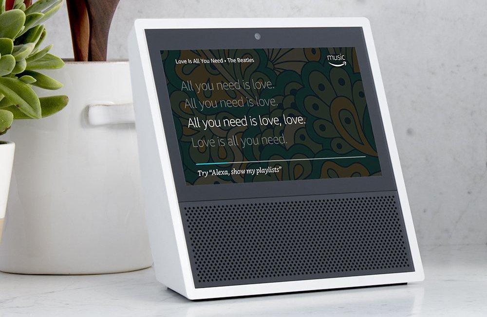 Amazon Akıllı Asistan Cihazı Echo Show'u Duyurdu