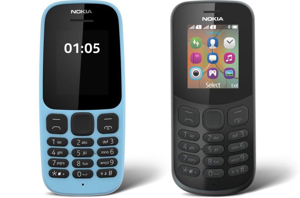 Nokia 105 ve Nokia 130 Duyuruldu