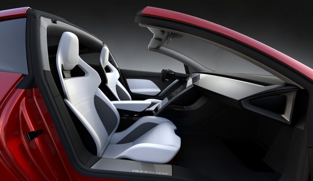 Tesla Roadster 2 İçi
