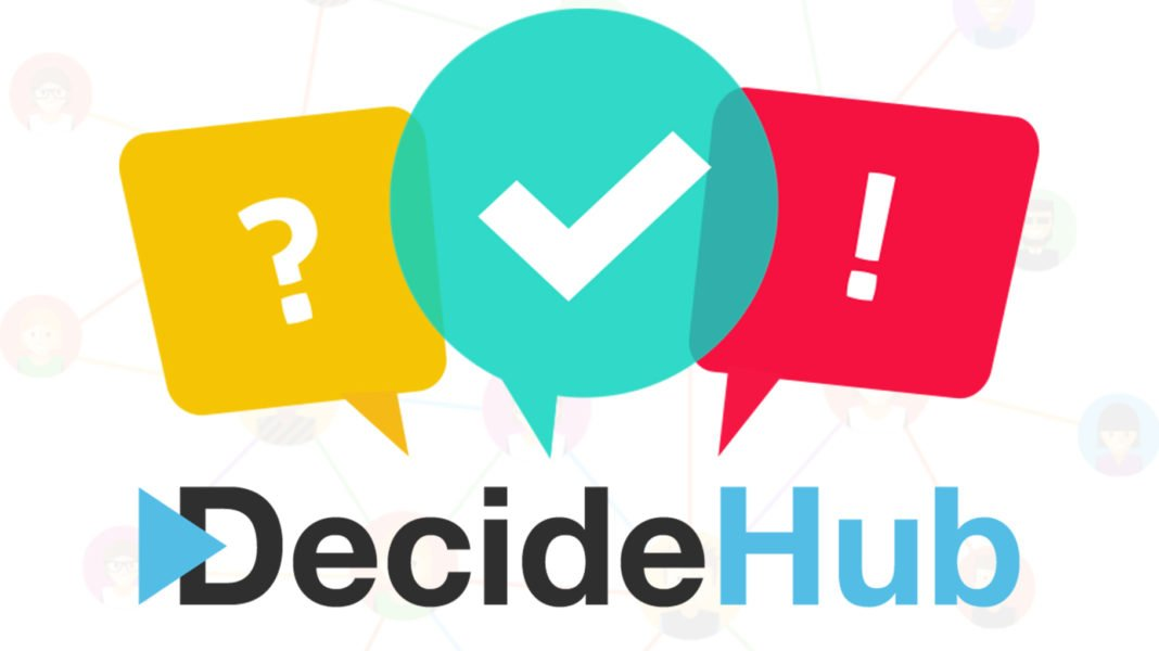 Adil Oylama Sistemi; DecideHUB