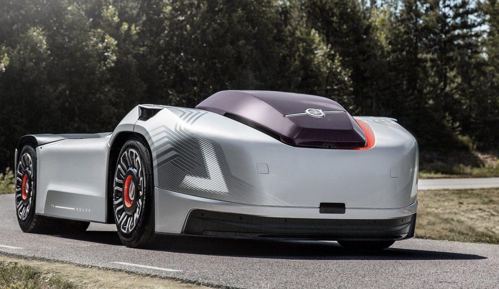 Volvo Elektrikli Otonom Kamyonu