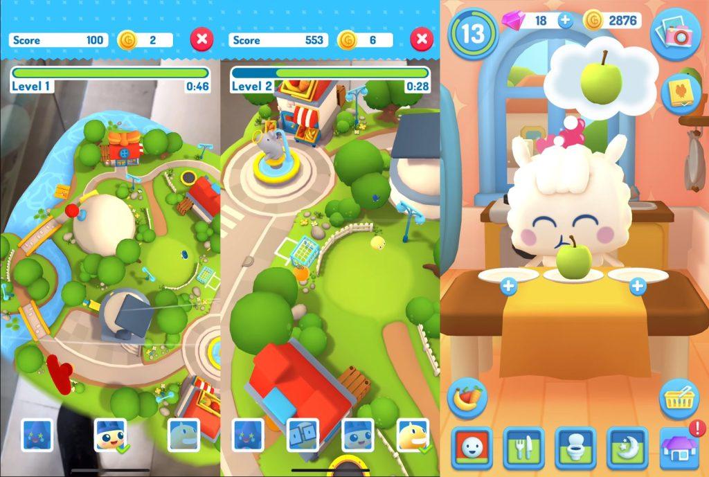 My Tamagotchi Forever ar oyununun oyun içi görseli, ekran görüntüsü, tanıtım videosu görseli