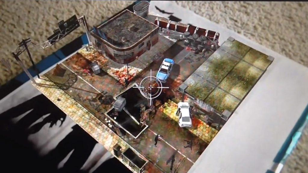 Table Zombies Augmented Reality ar oyununun tanıtım video oynanış görseli