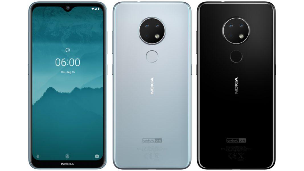Nokia 6.2 mavi ve siyah renkleri ve özellikleri