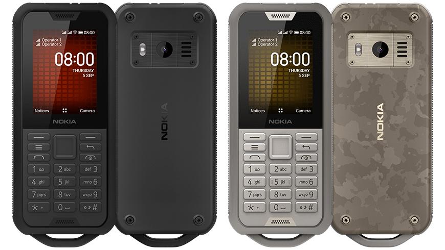 Nokia 800 Tough siyah ve çöl kumu özellikleri
