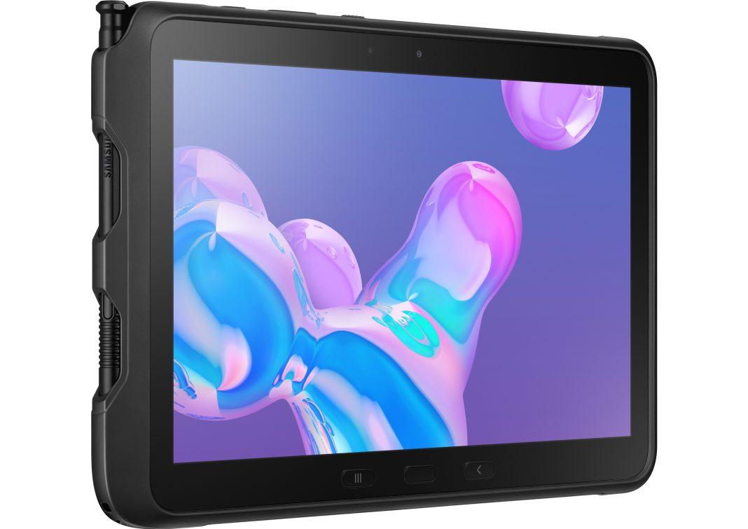 Samsung Galaxy Tab Active Pro yandan görünüşü