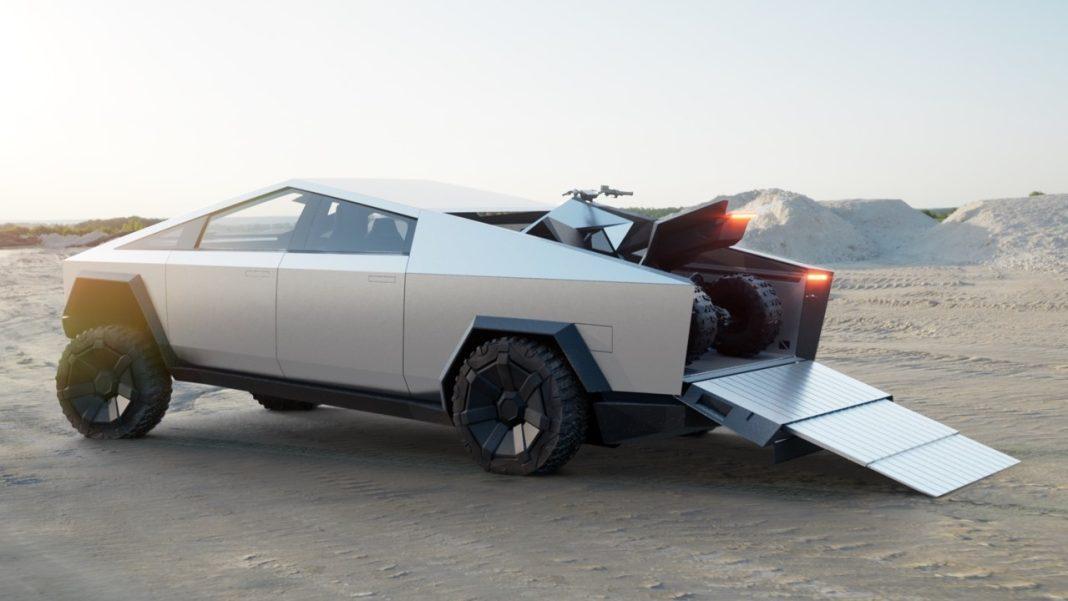 Tesla'dan Elektrikli Pickup, Cybertruck