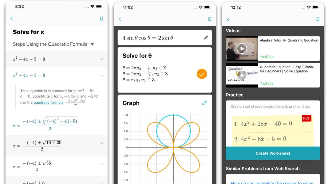 Microsoft'dan Matematik Problemleri Çözen Uygulama; Math Solver