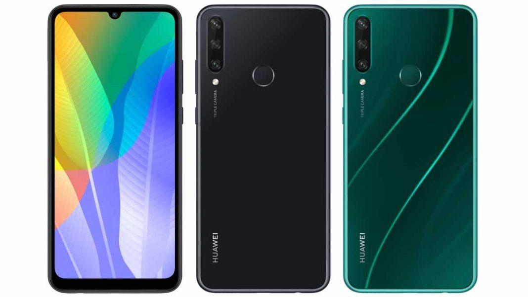Huawei Y6p Ozellikleri siyah ve yeşil