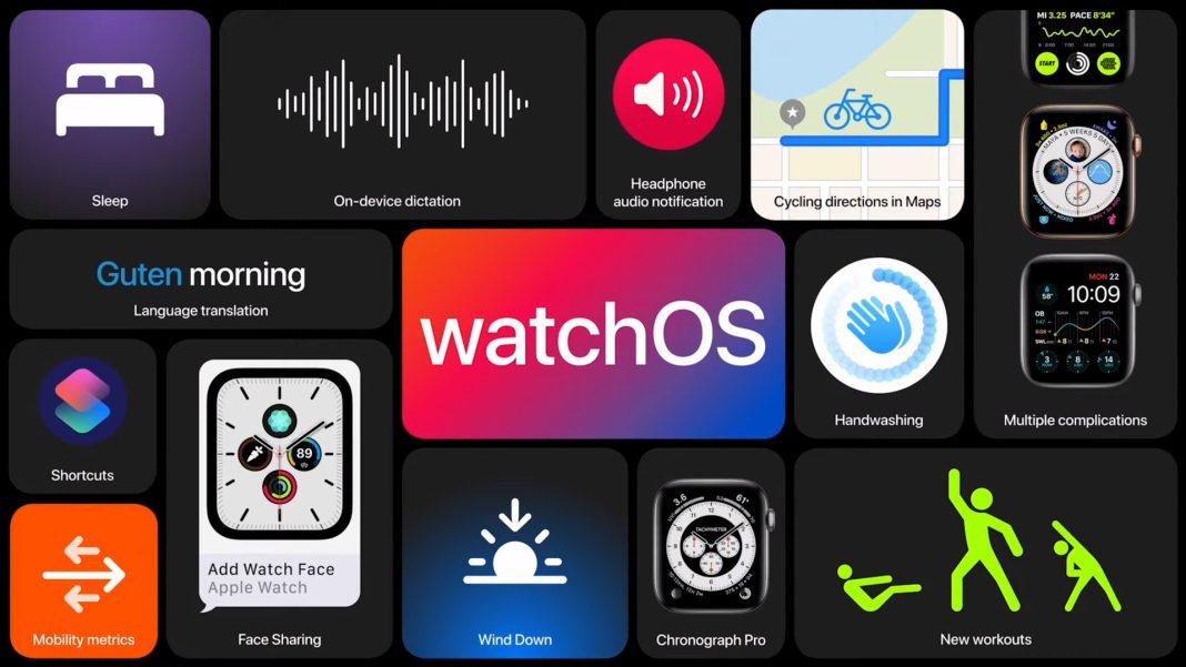 WatchOS 7 Güncellemesiile Gelen Yenilikler