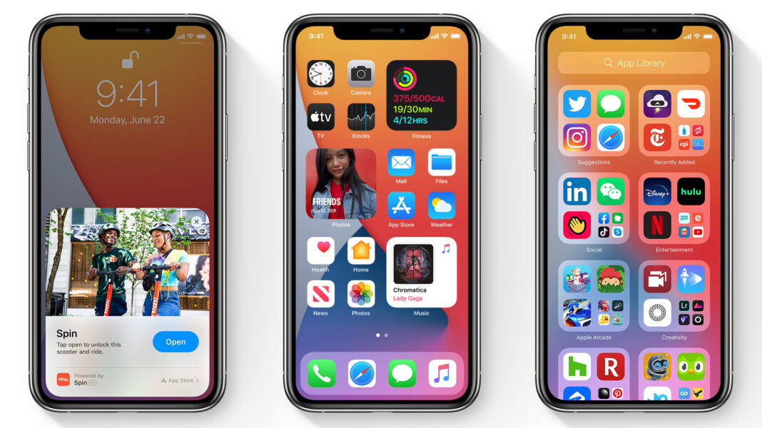 iOS 14, iPadOS 14 ve WatchOS 7 Güncellemesi
