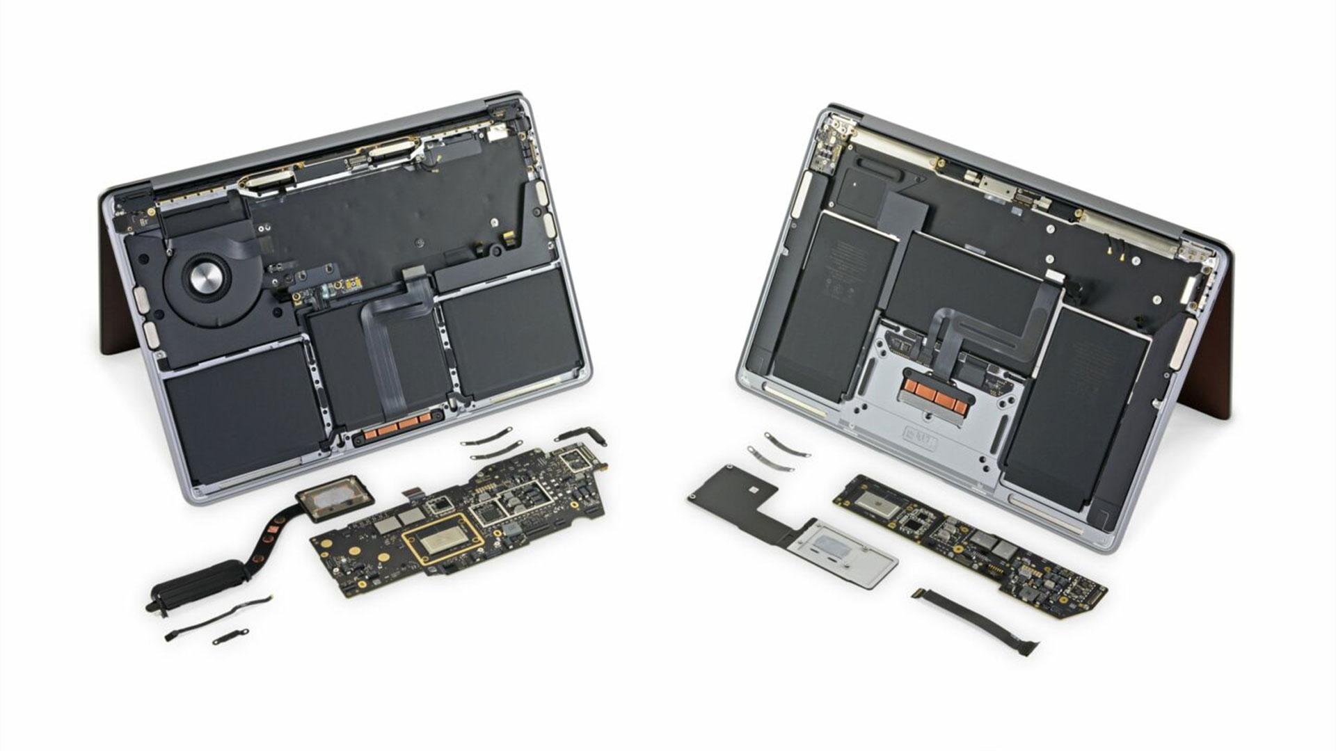 iFixit, M1 MacBook'a Yakindan Bakmamiza Olanak Sagliyor4