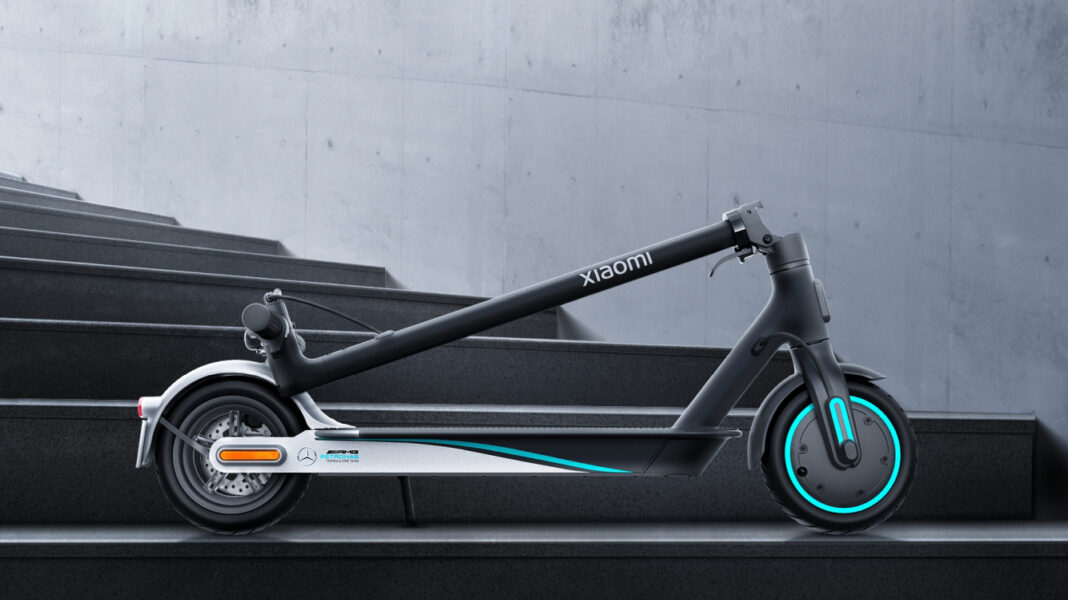 Xiaomi, Mi Electric Scooter Pro 2 Mercedes-AMG F1 Team Edition'ı Duyurdu
