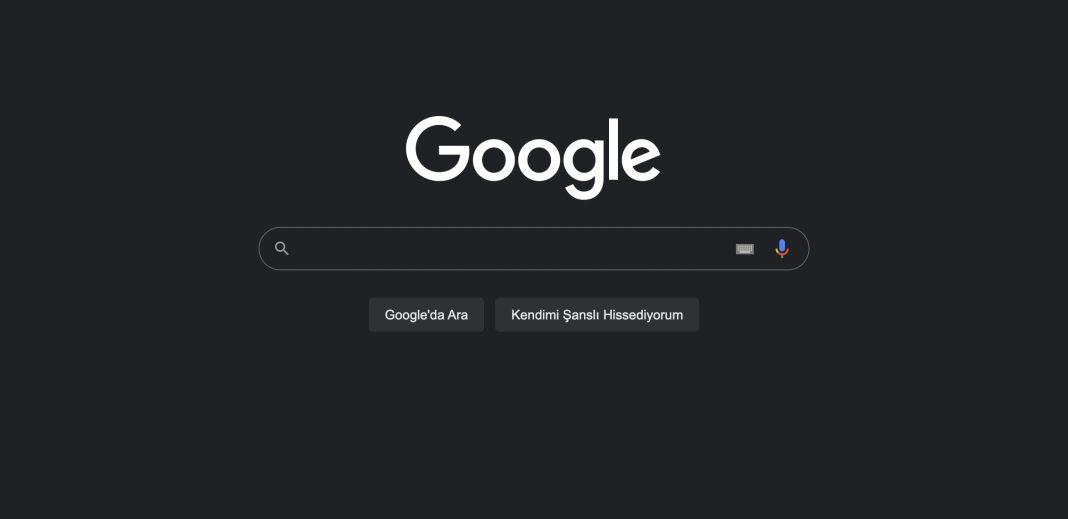 Google Karanlık Mod Desteği Masa Üstüne Geliyor