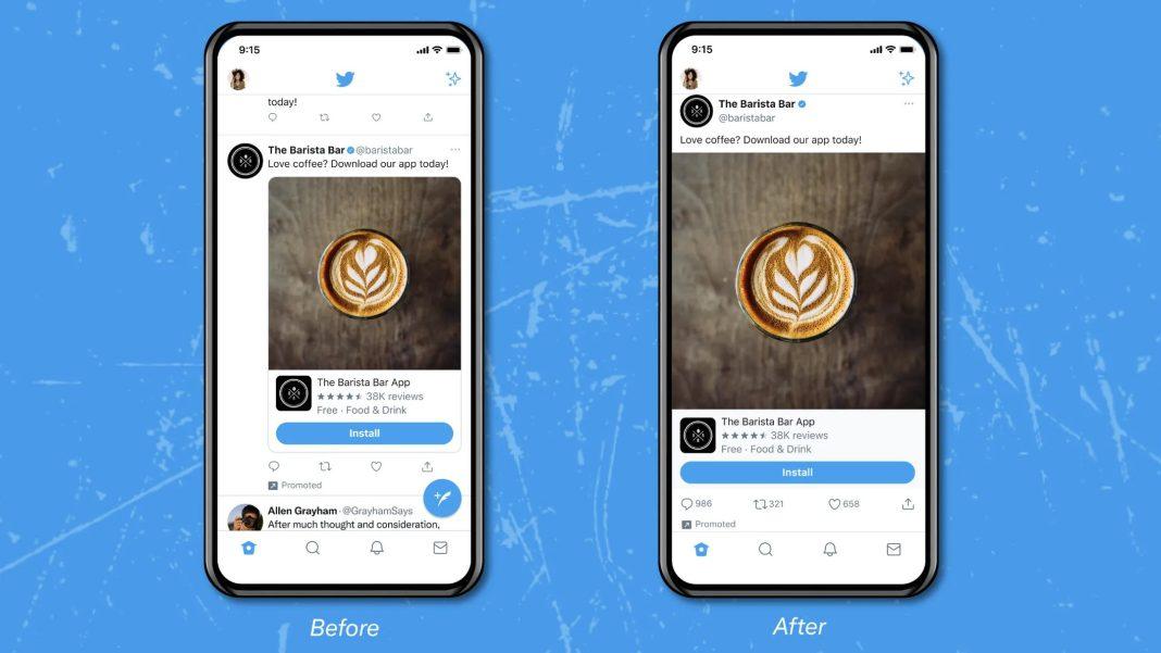 Twitter, Uçtan Uca Görsel Arayüzünü Test Ediyor